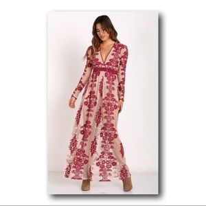 For Love and Lemons Temecula dress